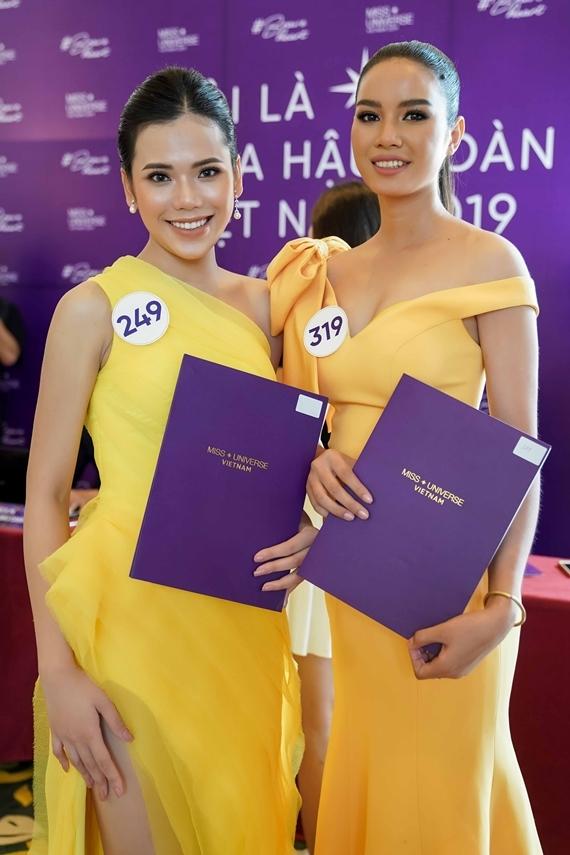 Nhan sắc bản sao Phạm Hương ở Hoa hậu Hoàn vũ VN 2019 - 2