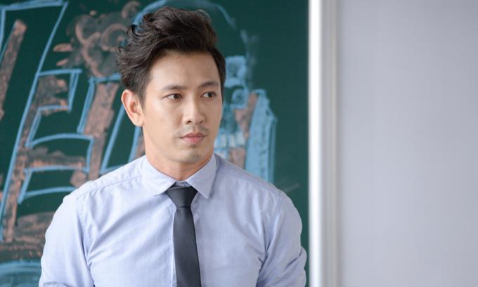 Đỗ An trong vai thầy Phong soái ca, bí ẩn.