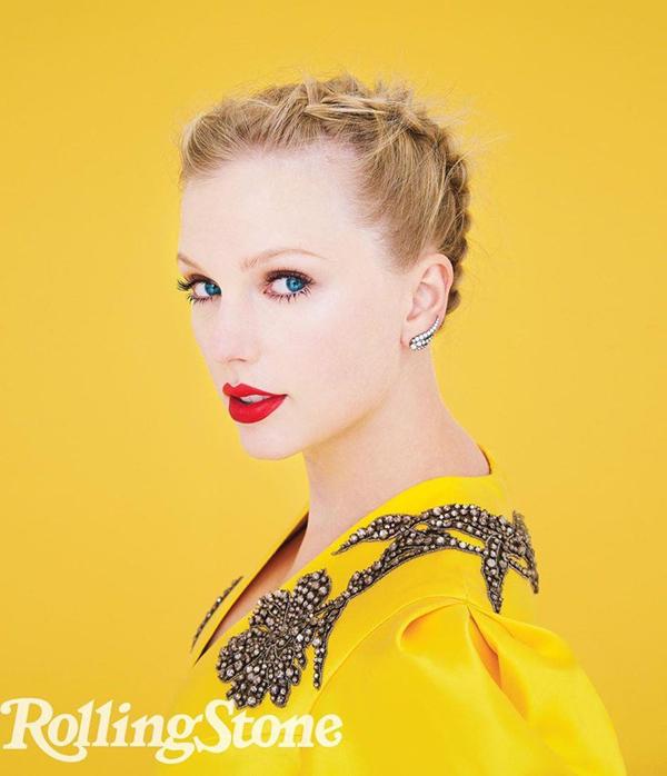 Taylor Swift trên tạp chí Rolling Stone.