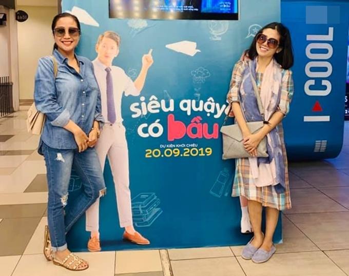 Ốc Thanh Vân đưa Mai Phương đi xem phim - 1