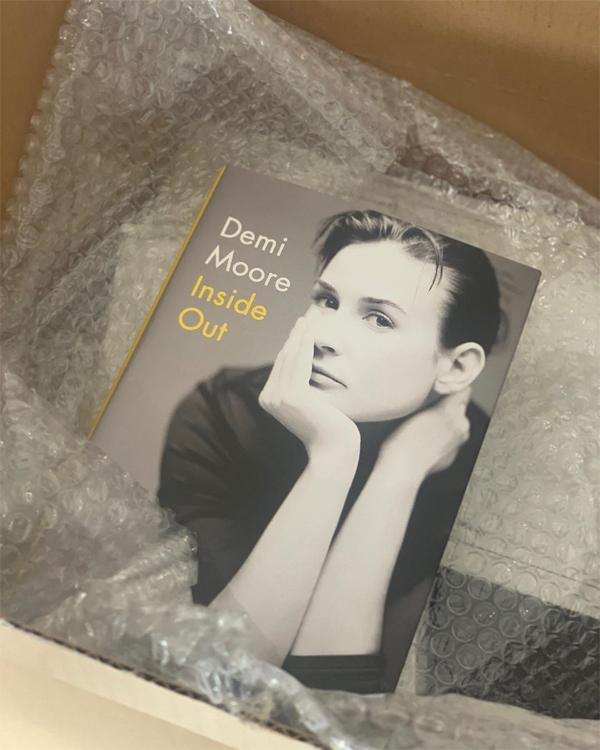 Cuốn hồi ký Inside Out của Demi Moore sẽ phát hành vào cuối tháng 9.