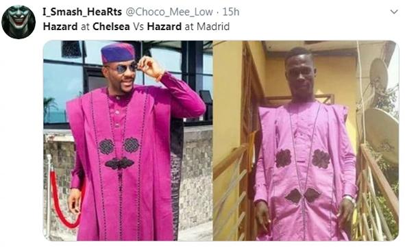 Tiền vệ người Bỉ thi đấu nhạt nhòa và bị thay ra ở phút 70 trong trận đấu mở màn vòng bảng Champions League của Real. Trên sân của PSG, đội bóng hoàng gia Tây Ban Nha bị đội chủ nhà đánh bại 0-3. Sau trận đấu, Eden Hazard trở thành chủ đề chế giễu khi không thể hiện được giá trị bản hợp đồng đắt giá. Các fan so sánh Hazard ở Chelsea khác một trời một vực so với Hazard trong màu áo Real.