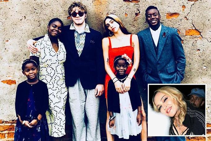 6 người con của Madonna.
