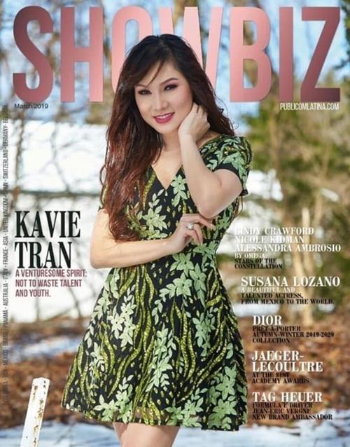 Kavie trên các tạp chí ở Mỹ - 1
