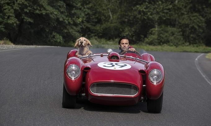 Enzo thích nhất đượctheo cậu chủ Denny tận hưởng những vòng đua.