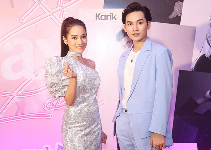 Ca sĩ Sara Lưu (vợ Dương Khắc Linh) hội ngộ đồng nghiệp Ali Hoàng Dương.