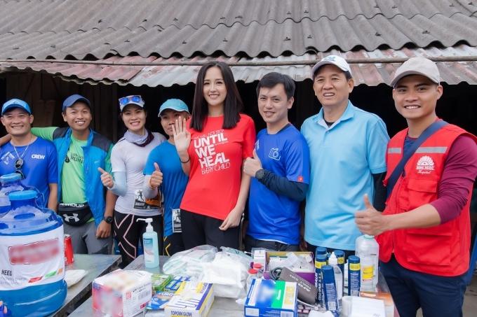 Năm nay, ban tổ chứcsẽ sử dụng số tiền 1,1 tỷ đồng thu được cho hoạt động của nhiều tổ chức, trong đó có Operation Smile do Mai Phương Thuý làm đại sứ.