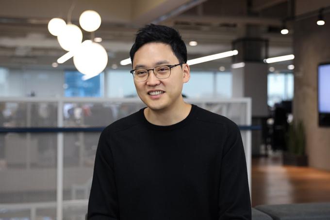 Seunggun Lee, CEO của Toss. Ảnh: CNBC.