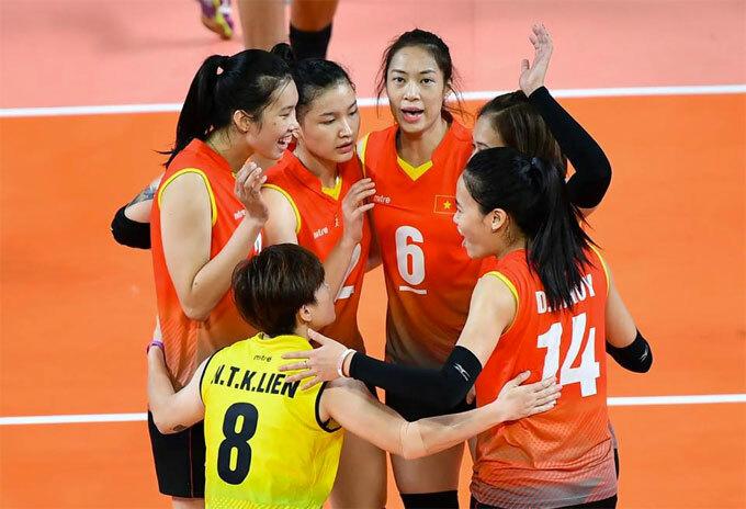 Tuyển bóng chuyền nữ thua cả ba trận tại vòng một Asean Grand Prix.