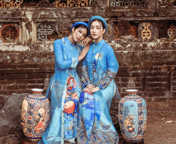 Ngọc Hân đọ dáng nàng thơ xứ Huế