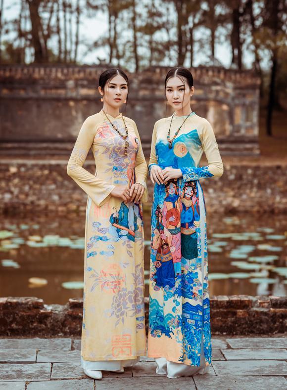Ngọc Hân đọ dáng nàng thơ xứ Huế - 1