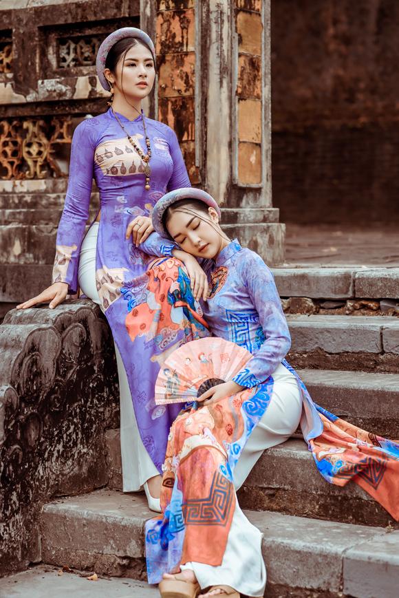 Ngọc Hân đọ dáng nàng thơ xứ Huế - 2