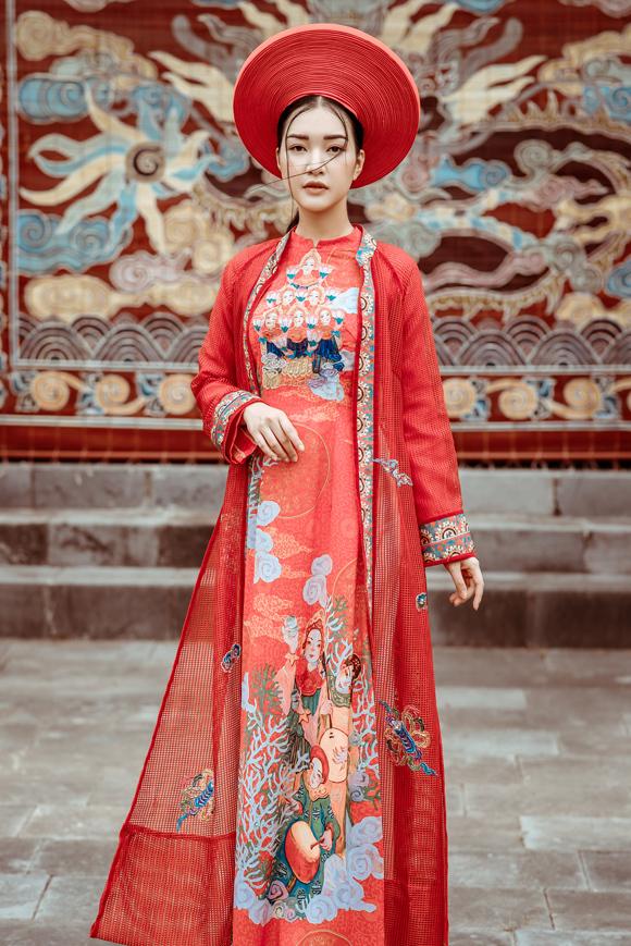 Ngọc Hân đọ dáng nàng thơ xứ Huế - 7
