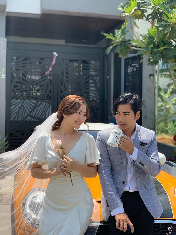 Thanh Bình và bà xã Ngọc Lan.