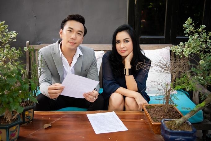 Diva Thanh Lam và ca sĩ Lê Việt Anh.