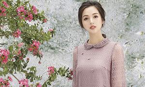 Tâm Tít hóa 'nàng thơ' trong bộ ảnh mới của Hong Vic Fashion