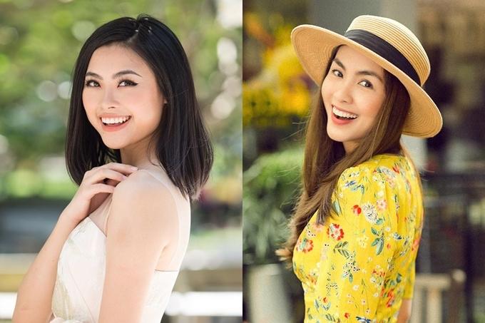 Bản sao Tăng Thanh Hà thi Hoa hậu Hoàn vũ VN