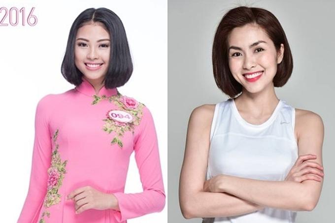 Bản sao Tăng Thanh Hà thi Hoa hậu Hoàn vũ VN - 1