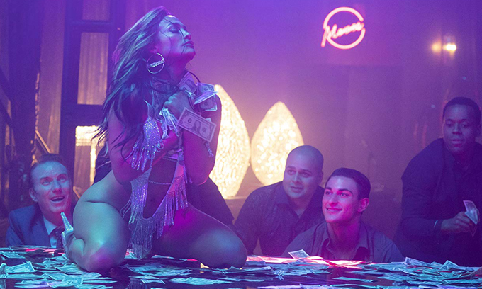 Một cảnh khiêu vũ sexy của J.Lo.