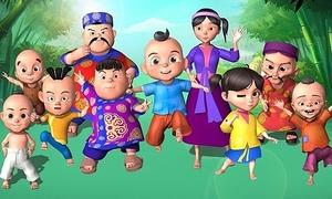Phim hoạt hình 'Thần đồng tí hon' dành cho trẻ