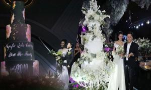 Những chiếc bánh cưới độc đáo của sao Việt