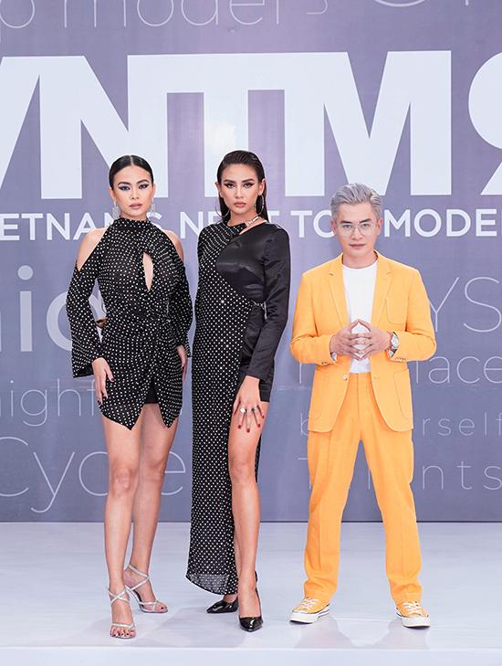 Ba giám khảo của vòng sơ khảo chương trình Vietnam Next Top Model 2019 gồm có Mâu Thủy, Võ Hoàng Yến và Nam Trung (từ trái sang phải).
