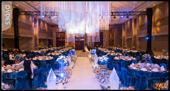 Tiệc cưới chuẩn cao cấp tại khách sạn 5 sao.