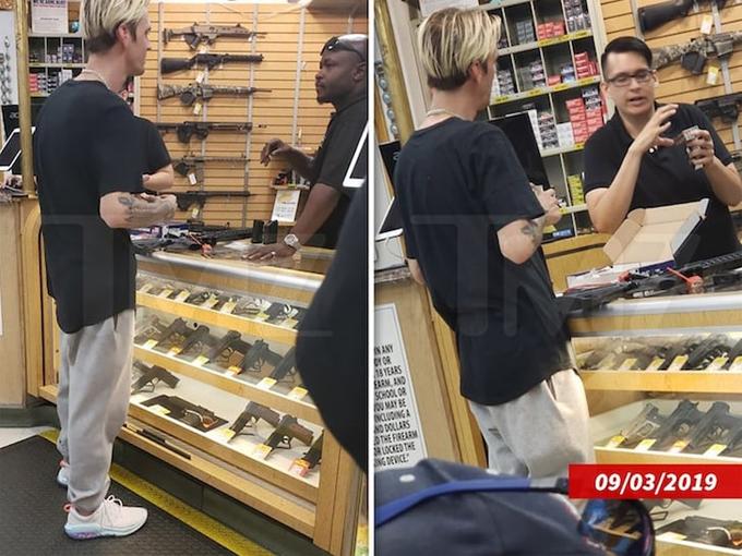 Aaron đi mua súng hôm 3/9.