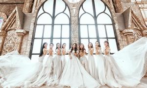 Váy cưới cho nàng dâu mùa thu