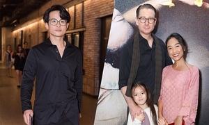 Gia đình Đoan Trang đi xem phim