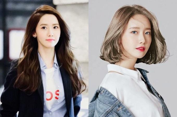 Yoona - gương mặt đại diện của nhóm SNSD - hợp với mọi kiểu tóc, kể cả nhuộm bạch kim hay vàng rực, theo Naver.