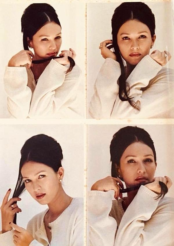 Nhan sắc của cô năm 1994.