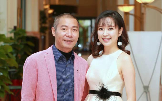 NSND Công Lý và diễn viên Kim Oanh.