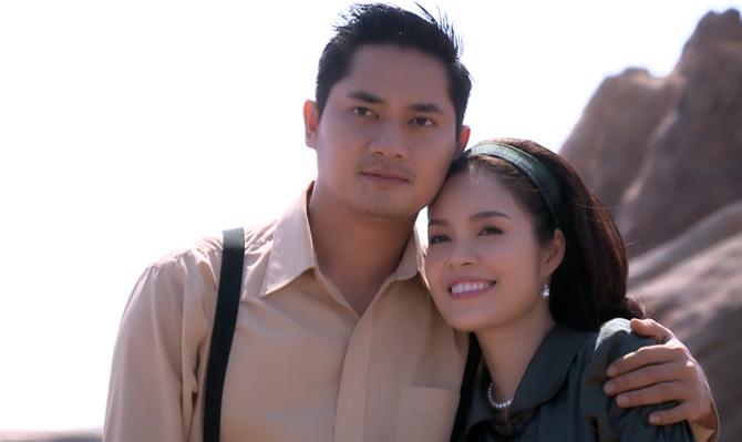 Dương Cẩm Lynh đóng cặp tình cũ Minh Luân trong phim Oan trái nghĩa tình.