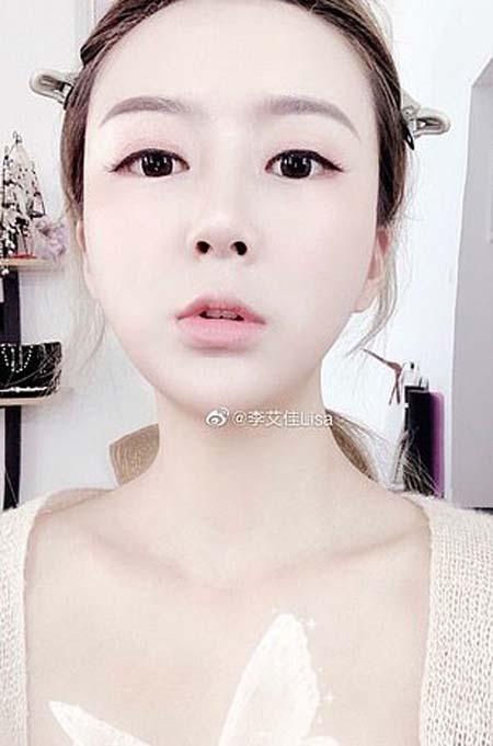 Lisa Li, ngôi sao mạng xã hội Trung Quốc, bị chủ nhà bóc mẽ ở bẩn. Ảnh: Weibo.