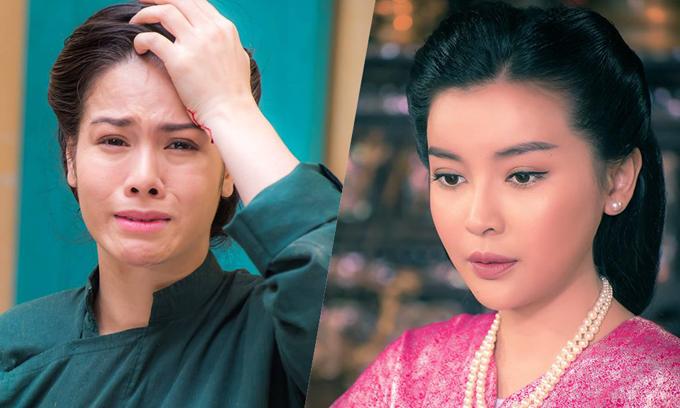 Nhật Kim Anh (trái) và Cao Thái Hà trong phim.