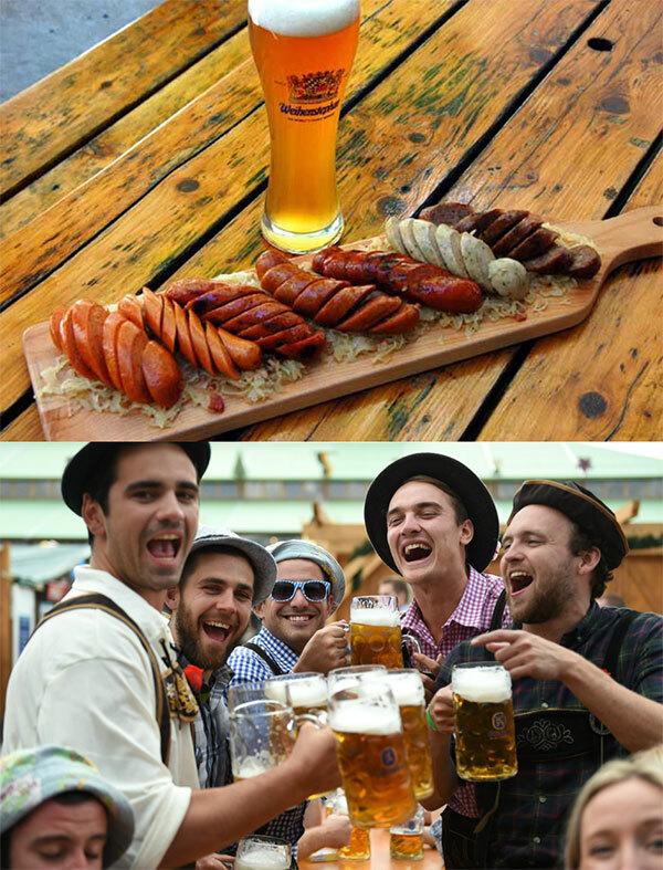 Dự lễ hội bia Oktoberfest Lager: Lễ hội Oktoberfest Lager diễn ra vào ngày 4 - 5/10, các bạn trẻ được thưởng thức dòng bia lager Đức thơm mùi trái cây, mật ong và caramel cùng món xúc xích nổi tiếng. Ngoài món xúc xích Đức quen thuộc, lễ hội còn có nhiều món ăn Đức thơm ngon. Ngoài ra, các bạn còn được tham dự chương trình rút thăm trúng thưởng cùng nhiều trò chơi hấp dẫn khác.