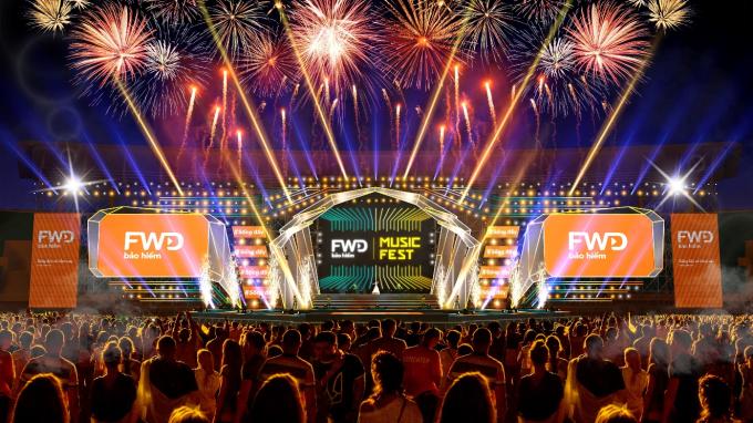 FWD Music Fest miễn phí vé vào cổng - 4