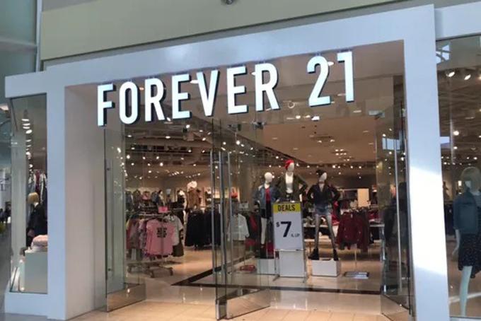 Một cửa hàng Forever 21 tại Los Angeles. Ảnh: USA Today.