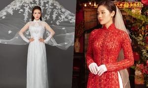 Top 10 áo dài cưới được yêu thích tháng 9