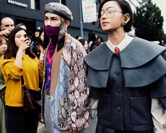 Cặp đôi Decao và Châu Bùi tiếp tục khiến khán giả trẻ trong nước phải trầm trồ khen ngợi vì phong cách cá tính của họ tại Milan Fashion Week.
