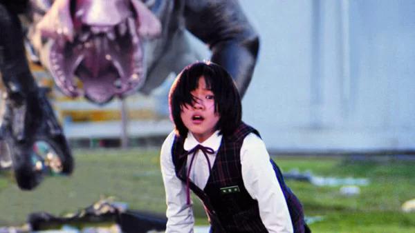 Go Ah Sung khi đóng Quái vật sông Hàn năm 2006.