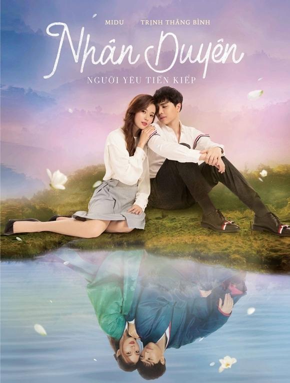 Midu và Trịnh Thăng Bình vào vai cặp đôi trải qua tình yêu nhiều kiếp người.