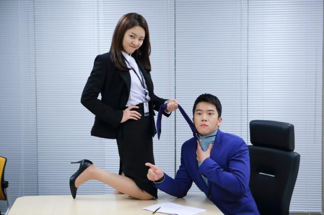 Go Sung Ah trong Văn phòng lấp lánh.