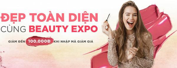 Hơn 5.000 voucher mua sắm dành tặng khách tham gia Ngoisao Beauty Expo 2019.