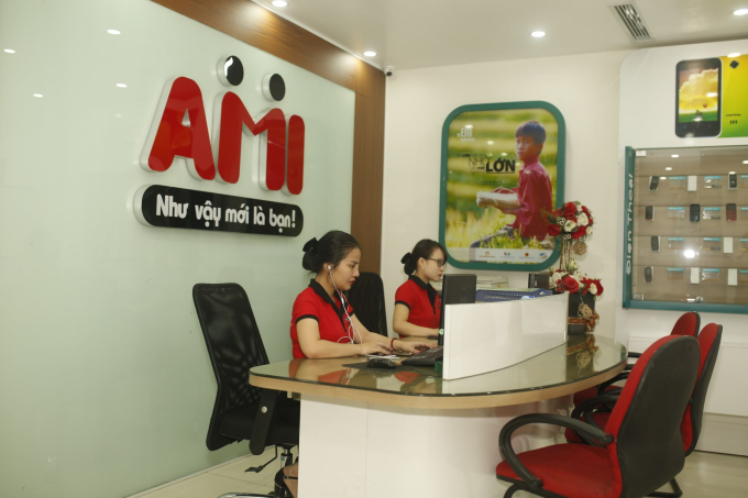 Văn phòng cung cấp sim chuyên nghiệp tại AMI.