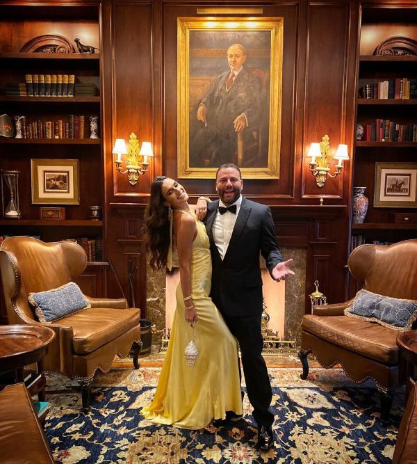 Vợ chồng doanh nhân Dave Grutman.
