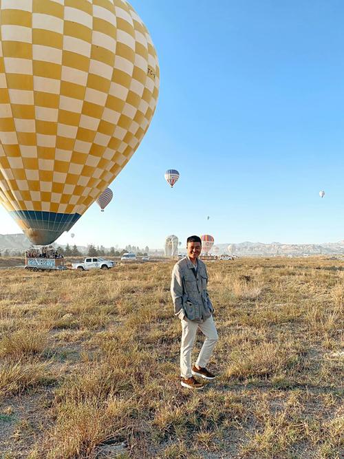 Quang Vinh bay lơ lửng ở Thổ Nhĩ Kỳ - 4