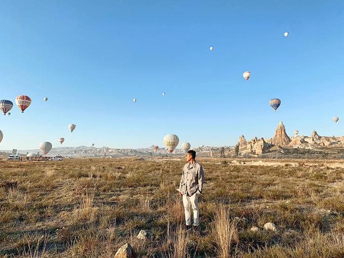 Quang Vinh bay lơ lửng ở Thổ Nhĩ Kỳ - 5
