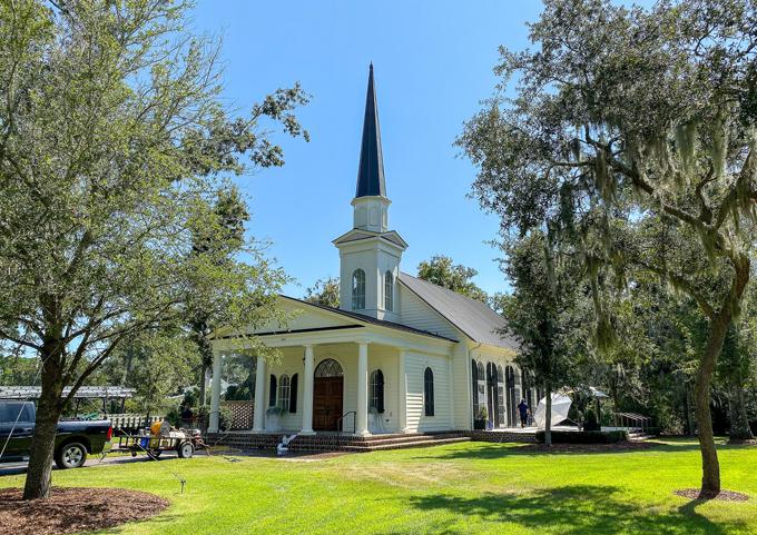 Nhà thờ nơi Justin và Hailey làm lễ cưới.